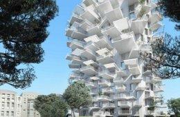 Arbre Blanc..อาคารที่เสมือนต้นไม้สีขาว แตกกิ่งก้านออกรับสายลม แสงแดด 34 - คอนโด