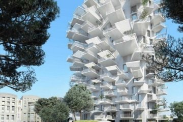 Arbre Blanc..อาคารที่เสมือนต้นไม้สีขาว แตกกิ่งก้านออกรับสายลม แสงแดด 6 - Arbre Blanc
