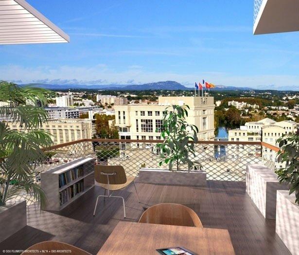 25570410 082929 Arbre Blanc..อาคารที่เสมือนต้นไม้สีขาว แตกกิ่งก้านออกรับสายลม แสงแดด