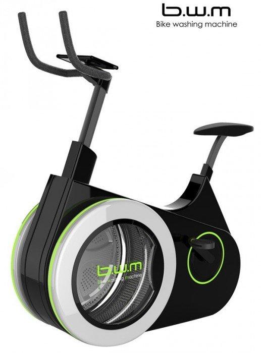 25570412 215009 เครื่องซักผ้าจักรยานปั่นออกกำลังกาย!