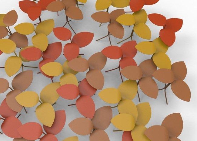 25570414 094159 โต๊ะที่ได้แรงบันดาลใจจากกิ่งไม้ ใบไม้..ในฤดูใบไม้ร่วง