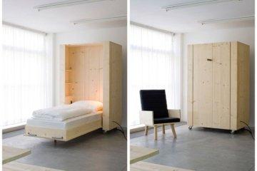เตียงกล่องติดล้อ เปิดเมื่อต้องการใช้ ประหยัดพื้นที่  20 - เตียงนอน