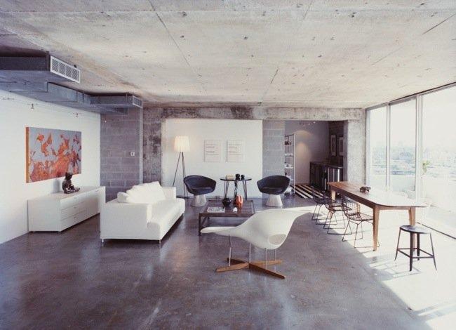 8 ไอเดียพื้นคอนกรีตในบ้าน ..ที่ดูดีเหลือเชื่อ 14 - concrete surface