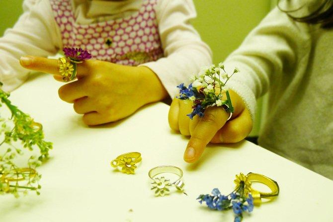 5 Blooming Jewelry, Spring rings by Gahee Kang