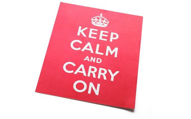 BMJMGR 2149065b โปสเตอร์ Keep Calm and Carry On โดนล้อซะจนจะเฝือ