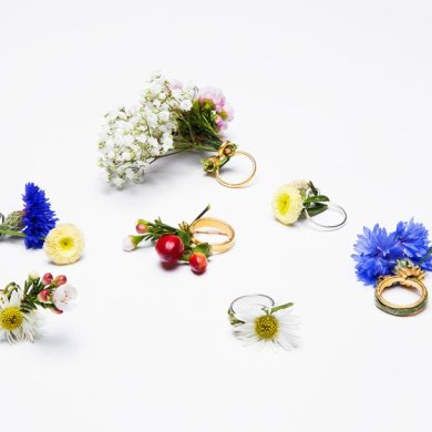 Blooming Jewelry, Spring rings by Gahee Kang 16 - Art & Design