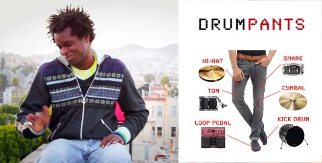 Drumpants เปลี่ยนร่างกายให้เป็นเครื่องดนตรี  13 - Drumpants