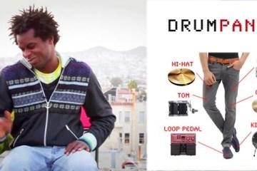 Drumpants เปลี่ยนร่างกายให้เป็นเครื่องดนตรี  2 - Drumpants