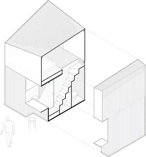 20140516 165336 ชุมชนบ้านขนาดเล็กจากไม้ไผ่ ภายในอาคารโรงงานเก่า..แก้ปัญหาที่อยู่อาศัยชั่วคราว