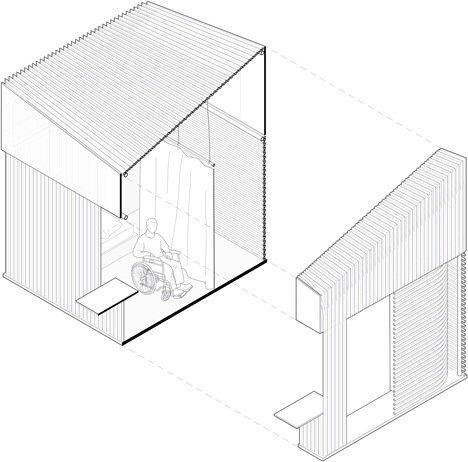 20140516 165404 ชุมชนบ้านขนาดเล็กจากไม้ไผ่ ภายในอาคารโรงงานเก่า..แก้ปัญหาที่อยู่อาศัยชั่วคราว