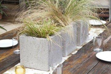 9 วิธีใช้คอนกรีตบล็อกกับสวนหลังบ้านให้ดูดี มีสไตล์