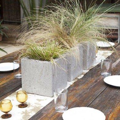 9 วิธีใช้คอนกรีตบล็อกกับสวนหลังบ้านให้ดูดี มีสไตล์ 27 - outdoor