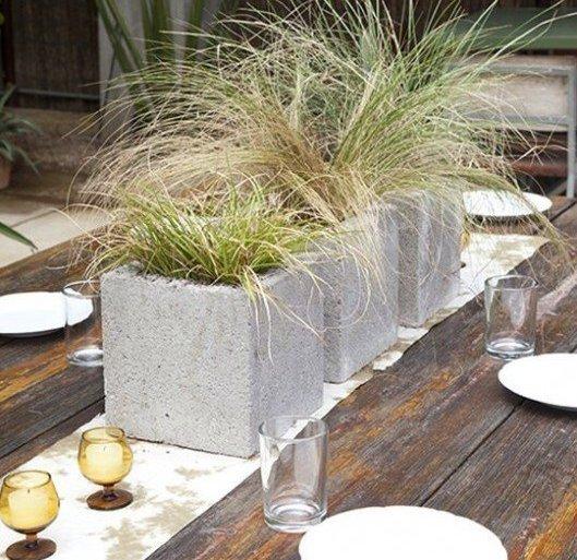 9 วิธีใช้คอนกรีตบล็อกกับสวนหลังบ้านให้ดูดี มีสไตล์ 14 - คอนกรีตบล็อก