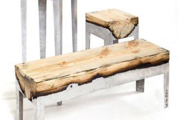 เฟอร์นิเจอร์ไม้บวกอลูมีเนียม..ฟินสุดๆ..โดยHilla Shamia 16 - เก้าอี้