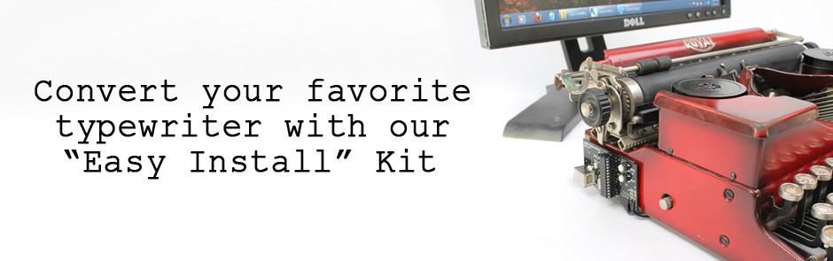 slideshow 3 1 USB Typewriter เครื่องพิมพ์ดีดต่อสายยูเอสบี