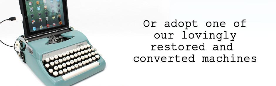 slideshow 4 USB Typewriter เครื่องพิมพ์ดีดต่อสายยูเอสบี