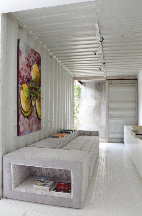 Container Project ..บ้านแบบอาร์ตๆจากตู้คอนเทนเนอร์ 13 - Graffiti