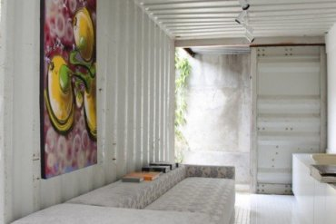 Container Project ..บ้านแบบอาร์ตๆจากตู้คอนเทนเนอร์ 14 - บ้านตู้คอนเทนเนอร์