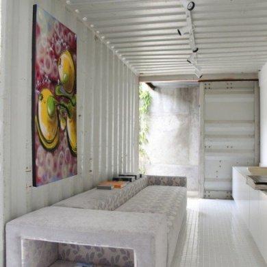 Container Project ..บ้านแบบอาร์ตๆจากตู้คอนเทนเนอร์ 15 - Graffiti
