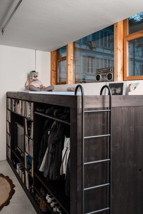 20140607 092547 33947628 เฟอร์นิเจอร์กล่อง..มีครบทั้งตู้ เตียง ชั้นวางของ ห้องเก็บของ รวมอยู่ในชิ้นเดียว