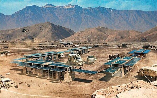 20140624 200739 72459002 สถานีผลิตพลังงานแสงอาทิตย์ แบบเคลื่อนที่ ขนาดยักษ์ทำจากตู้คอนเทนเนอร์
