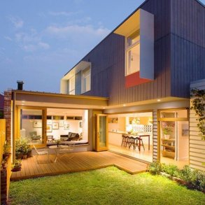 บ้านสีสันสดใส..แม้งบจำกัด แต่ดูดี งดงาม ลงตัวไปหมด 20 - courtyard
