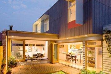 บ้านสีสันสดใส..แม้งบจำกัด แต่ดูดี งดงาม ลงตัวไปหมด 6 - courtyard