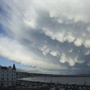 Mammatus Clouds หนึ่งในเมฆที่สวย มาพร้อมกับพายุที่รุนแรง 14 - Clouds