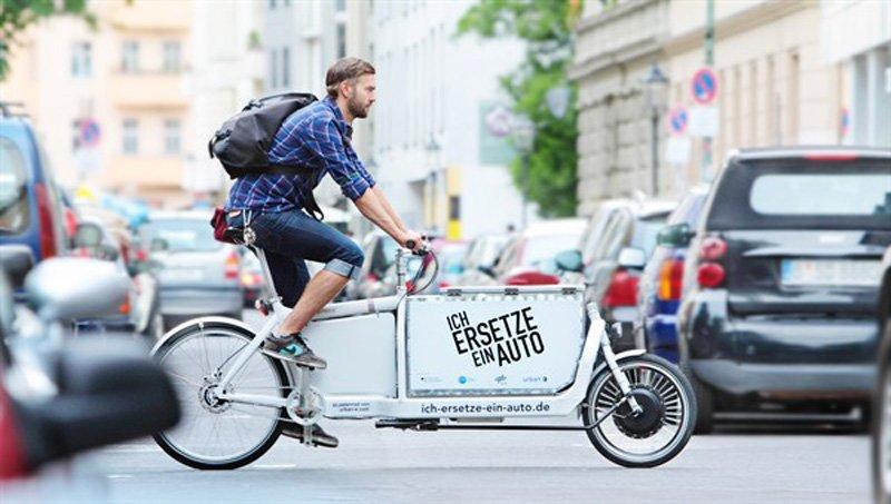 ichersetzeeinauto l Cargo Bike Wave ช่วยลดปริมาณรถยนต์และรถบรรทุกบนท้องถนน