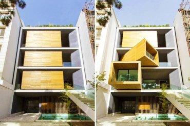 บ้านที่ปรับเปลี่ยนเคลื่อนห้องได้เพียงการกดปุ่ม 28 - แบบบ้าน