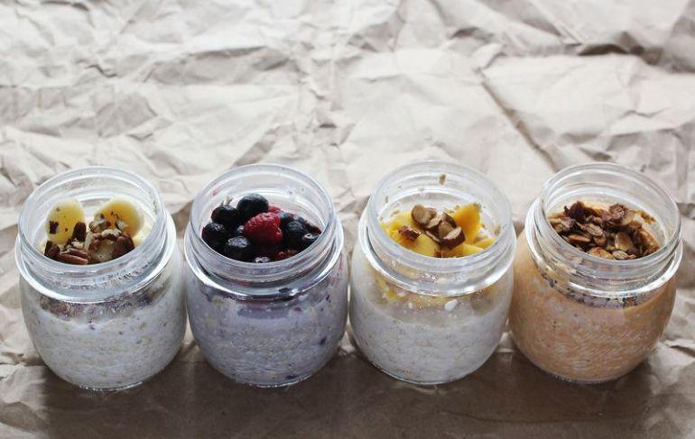 อิ่มอร่อยไม่อ้วนกับเมนูเช้า Oatmeal 4 เมนู 13 - berry