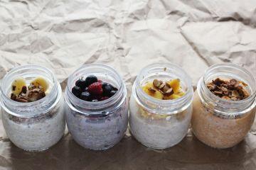 อิ่มอร่อยไม่อ้วนกับเมนูเช้า Oatmeal 4 เมนู 10 - berry