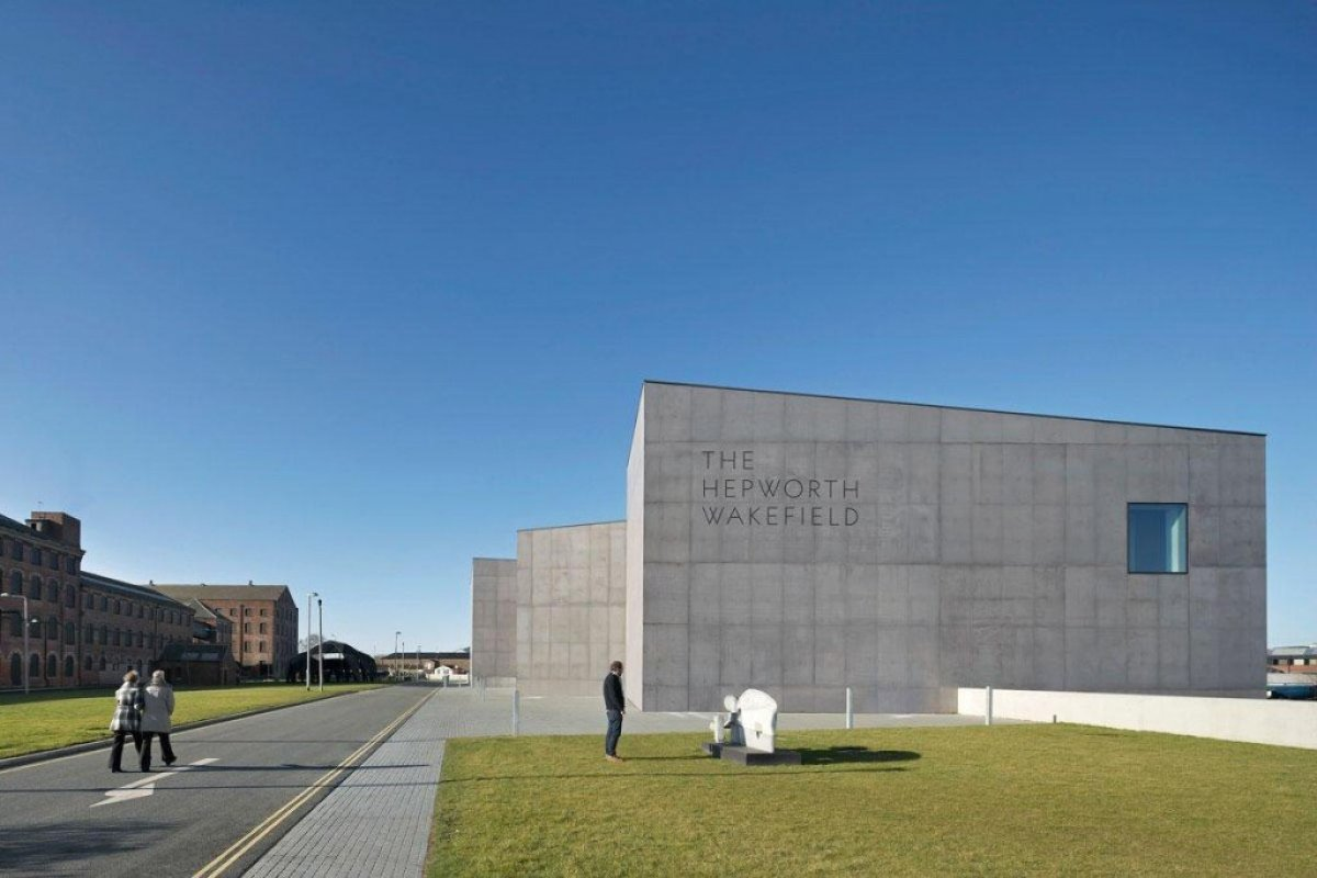 David Chipperfield Architects . Hepworth Wakefield . West Yorkshire 3 Hepworth Wakefield Gallary ดินแดงแห่งงานประติมากรรม