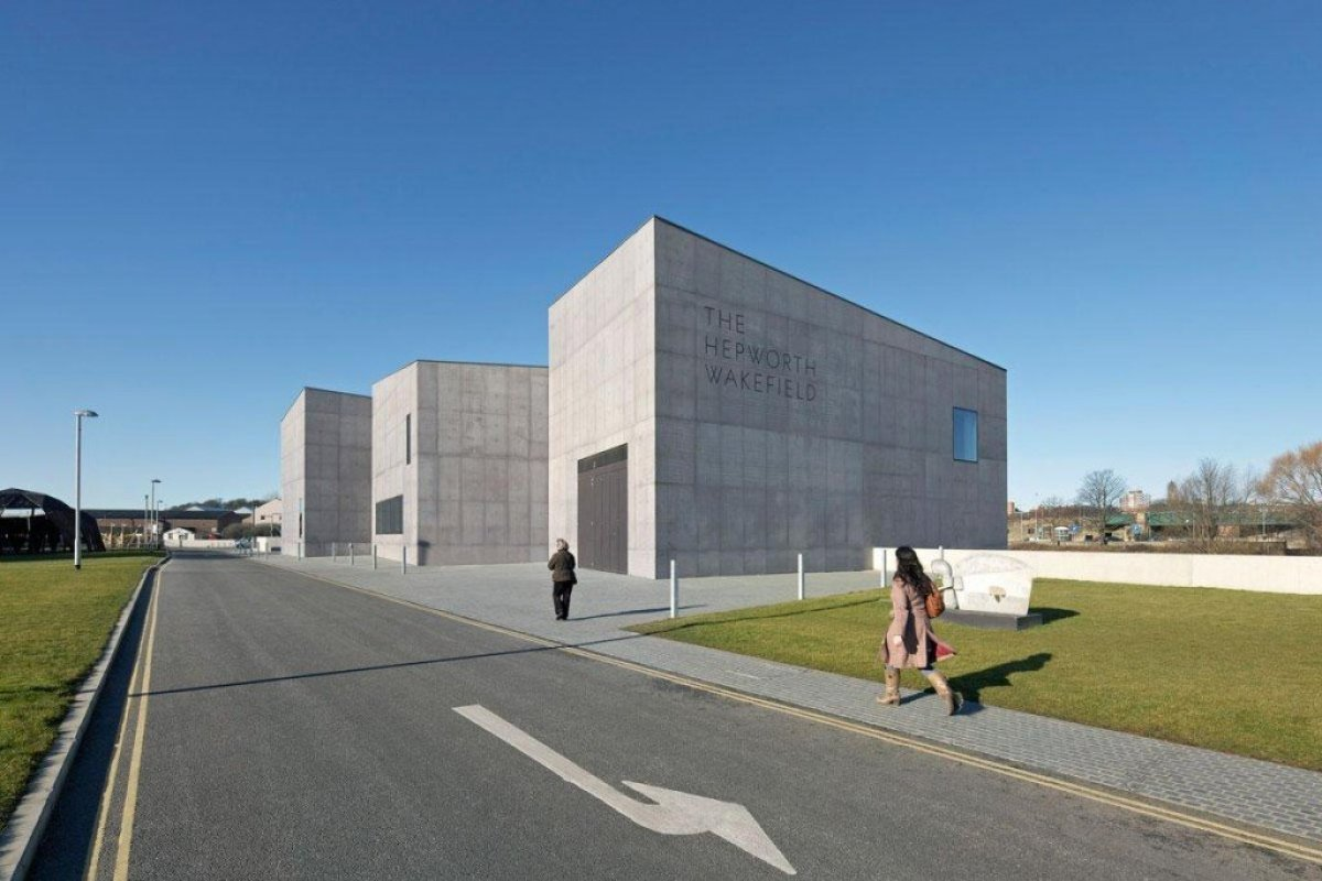 David Chipperfield Architects . Hepworth Wakefield . West Yorkshire 4 Hepworth Wakefield Gallary ดินแดงแห่งงานประติมากรรม