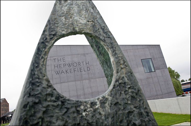 Hepworth Wakefield 001 Hepworth Wakefield Gallary ดินแดงแห่งงานประติมากรรม