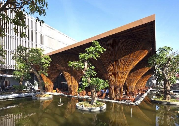 สถาปัตยกรรมจากไม้ไผ่ โดย Vo Trong Nghia Architects เป็นมิตรกับสิ่งแวดล้อม ประหยัดพลังงาน 15 - Architecture
