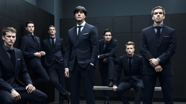 image1 650x365 เมื่อทีมชาติ Germany เป็นนายแบบให้ Hugo Boss เท่สุดยอด #GER