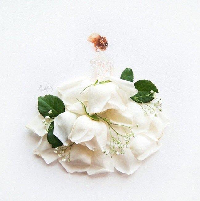 20140801 193756 70676486 เมื่อกลีบดอกไม้กลายเป็นชุดสวยชวนฝัน