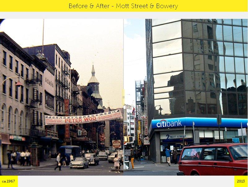 A1 NYC  GRID Before & After ภาพถ่ายเปรียบเทียบอดีต ปัจจุบัน