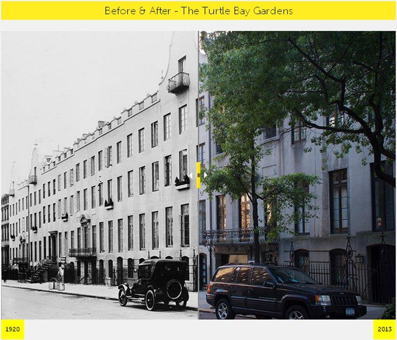 A2 NYC  GRID Before & After ภาพถ่ายเปรียบเทียบอดีต ปัจจุบัน