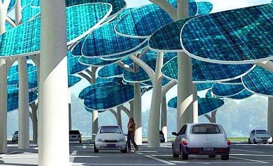 ป่าผลิตพลังงานแสงอาทิตย์ ..และที่จอดรถ 13 - ที่จอดรถ