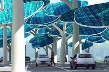 ป่าผลิตพลังงานแสงอาทิตย์ ..และที่จอดรถ 19 - พลังงานทางเลือก