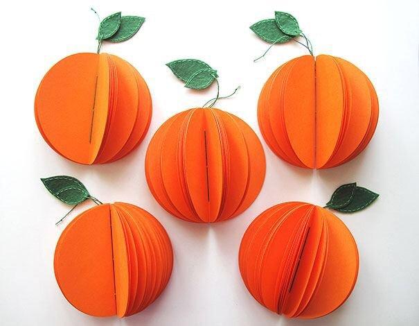 IMG 4574 สมุดโน๊ตทำมือ สีสันสดใส เป็นผัก ผลไม้ พิซซ่า