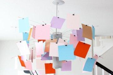 โคมไฟแชนเดอเลียร์ Zettel เปลี่ยนแปลงสนุกๆ ตามต้องการ 26 - DIY