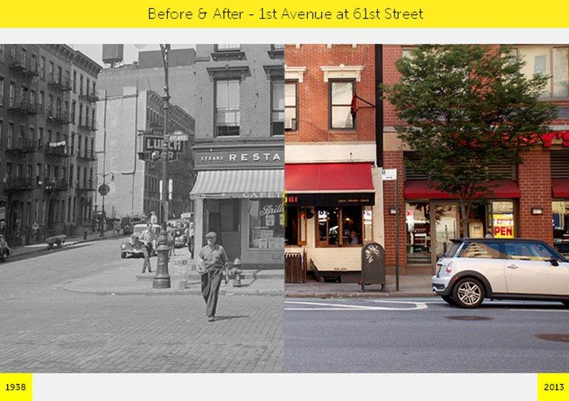 V6 NYC GRID Before & After ภาพถ่ายเปรียบเทียบอดีต ปัจจุบัน