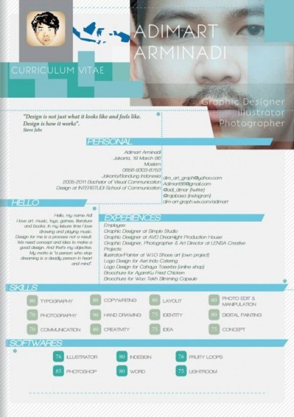 c80063c9d5d7b94c7bb6db64ba276746 10 creative cv และ resume ที่สร้างตัวเองโดดเด่น