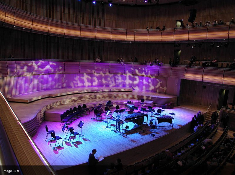 65 The Sage Gateshead ศูนย์การเรียนรู้ด้านดนตรีในภูมิภาคที่ีชื่อเสียงระดับโลก