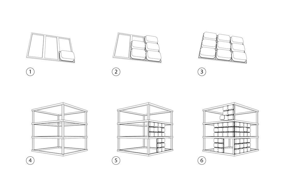 IMG 4835 สร้างบาร์หรือบู้ธชั่วคราวด้วยกล่องใส่ของ IKEA