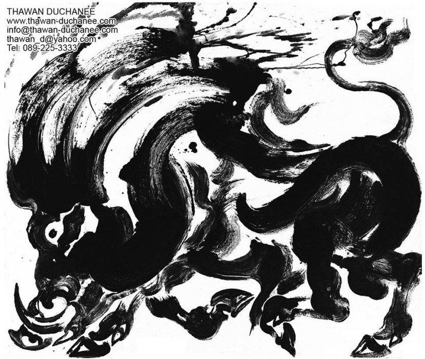 IMG 4929 ถวัลย์ ดัชนี ช่างวาดรูป ผู้นำพุทธปรัชญามาสู่พุทธศิลป์