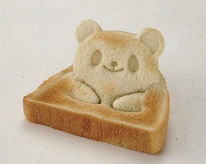 IMG 5249 Toast Stamp เปลี่ยนขนมปังสี่เหลี่ยมน่าเบื่อ เป็นน้องหมีสุดน่ารัก